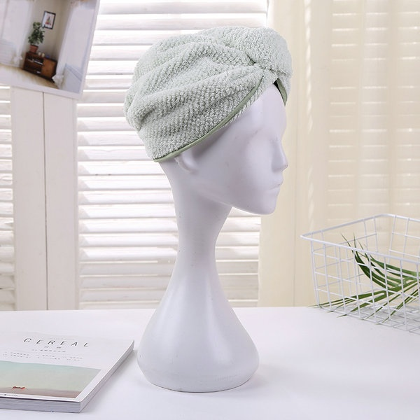 China factory Hair drying cap hair turban ladys hair dryed hat stocks on sales